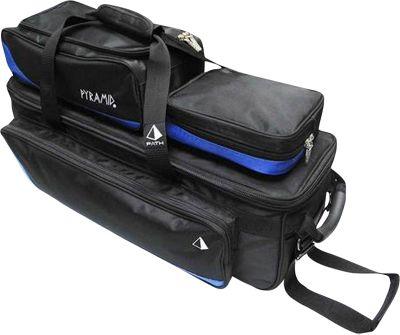 Pyramid Path Triple Tote Roller Plus Bowling Bag Royal Blue - Pyramid Bowling Bags