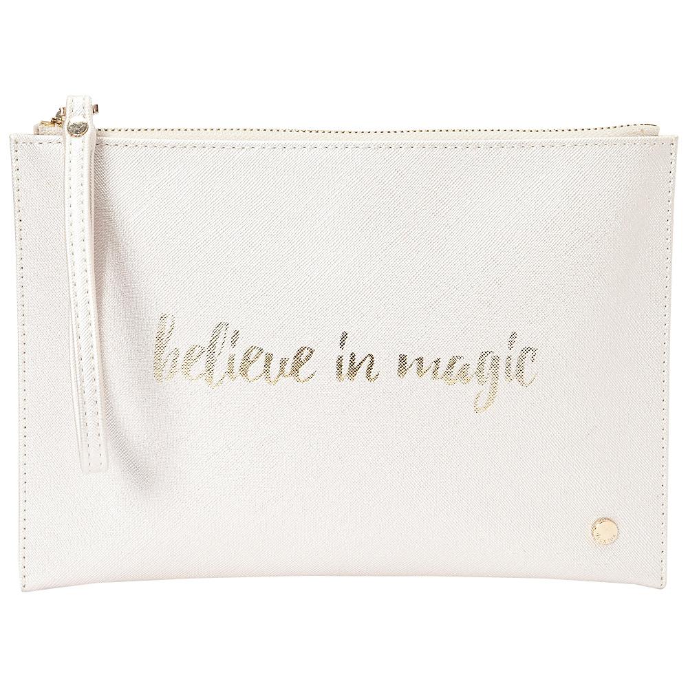 deux lux Bisou Pouch Pearl deux lux Manmade Handbags