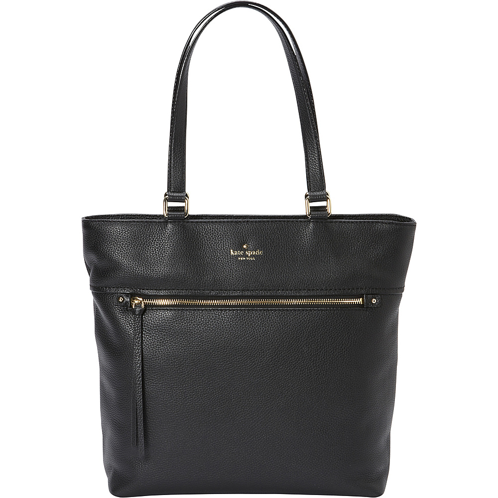 kate spade new york Cobble Hill Tayler Tote Black kate spade new york Designer Handbags