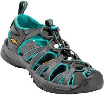 KEEN Womens Whisper Sandal 5.5 - Dark Shadow/Ceramic - KEEN Women's Footwear