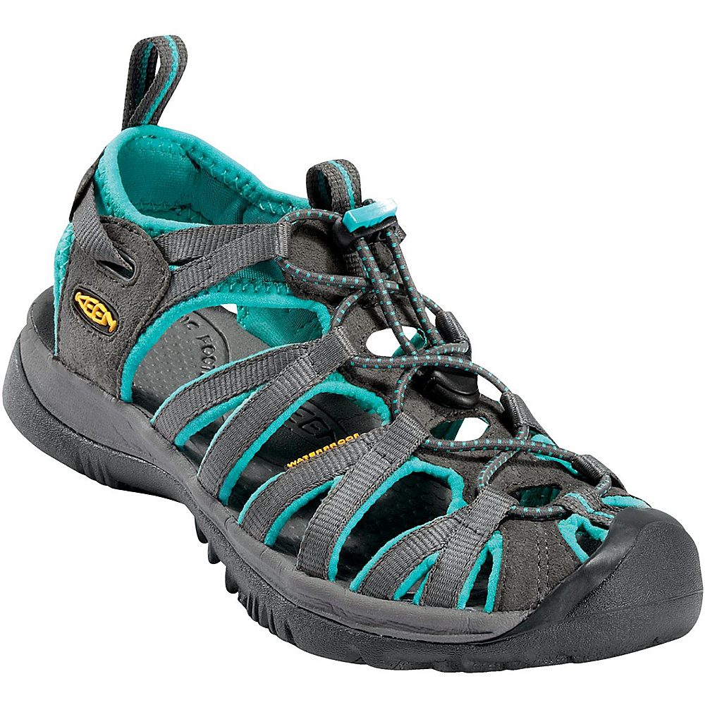 KEEN Womens Whisper Sandal 5.5 - Dark Shadow/Ceramic - KEEN Womens Footwear - Apparel & Footwear, Women's Footwear