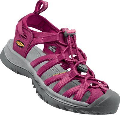 KEEN Womens Whisper Sandal 10.5 - Beet Red/Honeysuckle - KEEN Women's Footwear