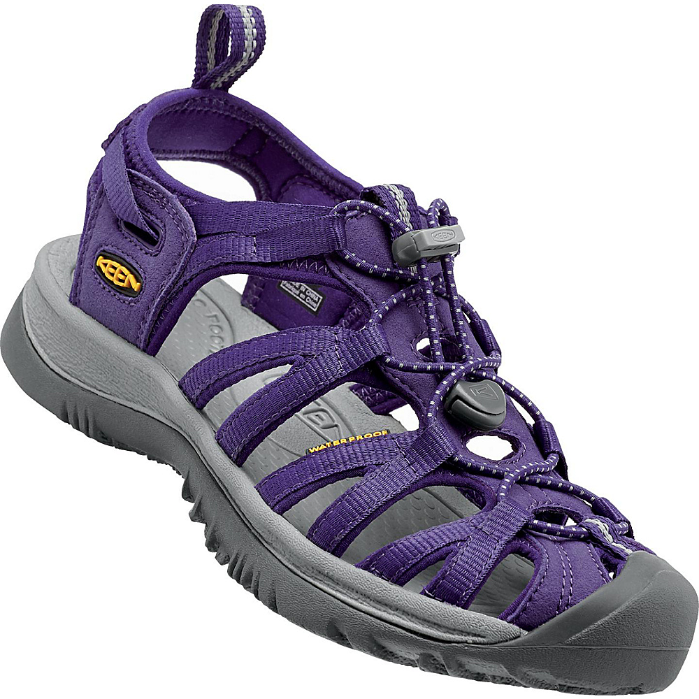 KEEN Womens Whisper Sandal 6 - Parachute/Neutral Gray - KEEN Womens Footwear - Apparel & Footwear, Women's Footwear