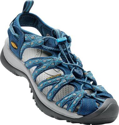 KEEN Womens Whisper Sandal 6 - Poseidon/Blue Danube - KEEN Women's Footwear