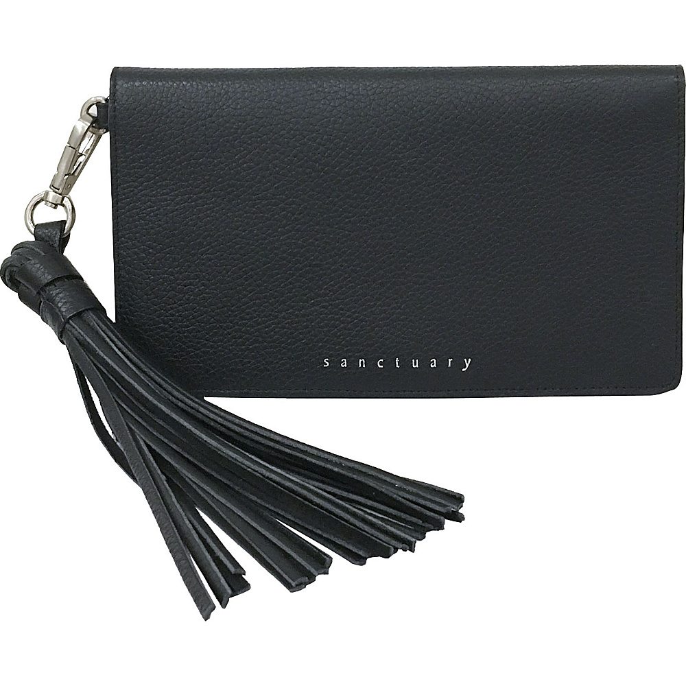 Sanctuary Handbags On The Go Travel Wallet Black Sanctuary Handbags Women s Wallets