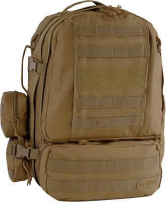 Highland Tactical Apollo Heavy Duty Tactical Backpack Desert - Highland Tactical Day Hiking Backpacks