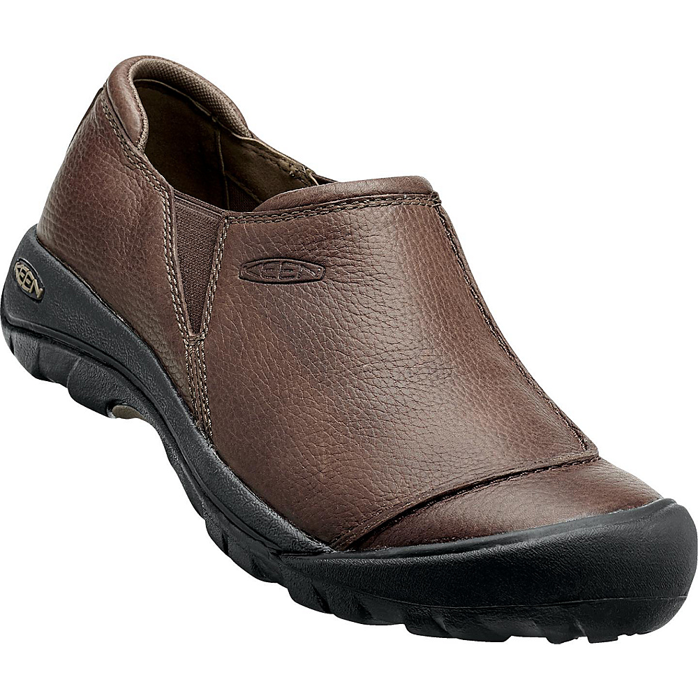 KEEN Mens Austin Slip On 7.5 - Cascade Brown - KEEN Mens Footwear - Apparel & Footwear, Men's Footwear