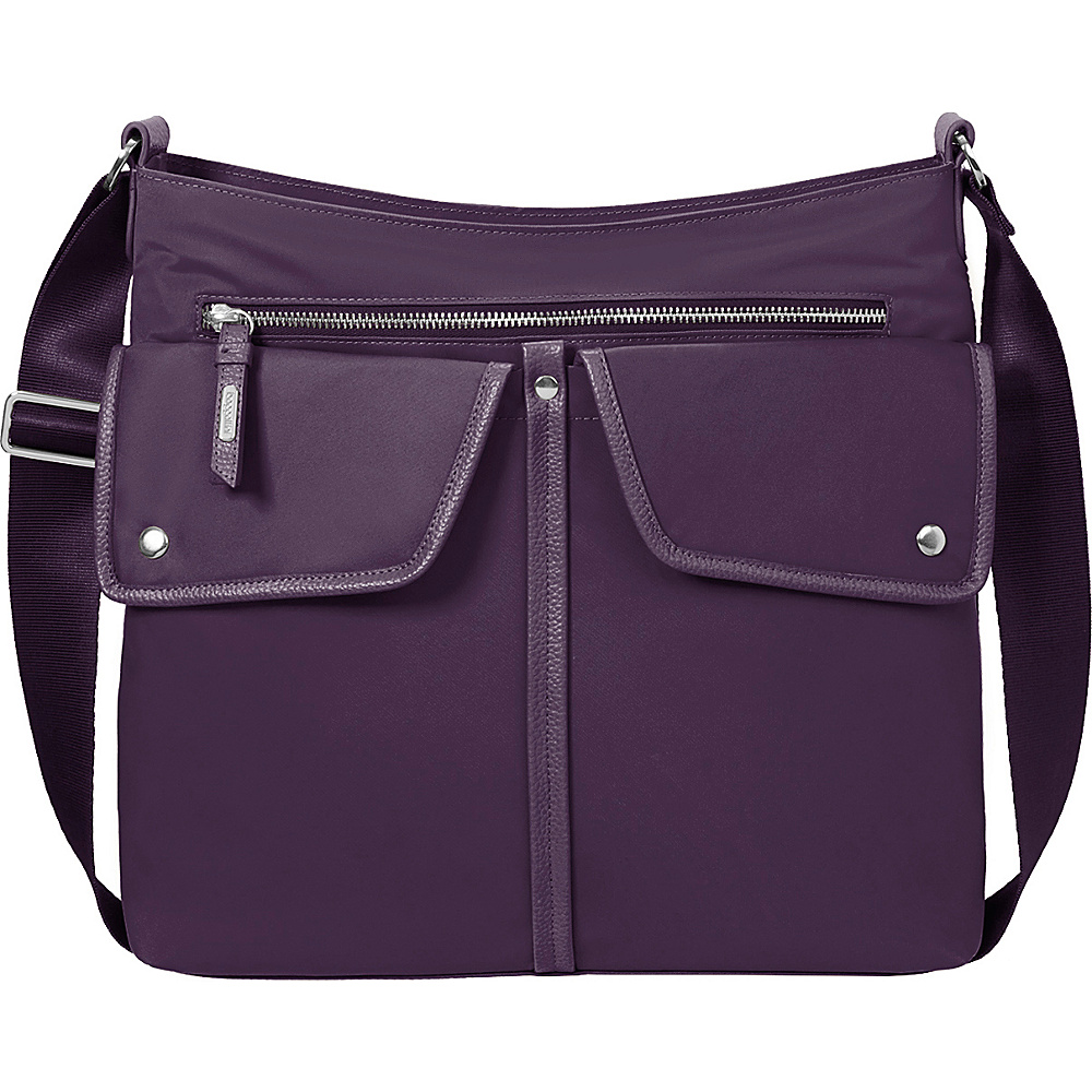 baggallini Hillcrest Hobo Wine - baggallini Fabric Handbags - Handbags, Fabric Handbags