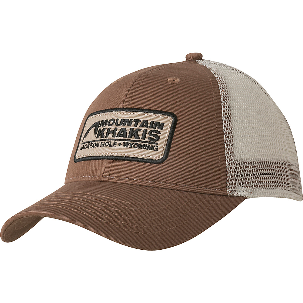 Mountain Khakis Soul Patch Trucker Cap One Size - Legacy Brown - Mountain Khakis Hats/Gloves/Scarves - Fashion Accessories, Hats/Gloves/Scarves