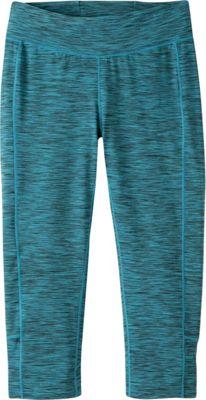Mountain Khakis Traverse Tight Capri M - Blue Topaz Heather - Mountain Khakis Women's Apparel