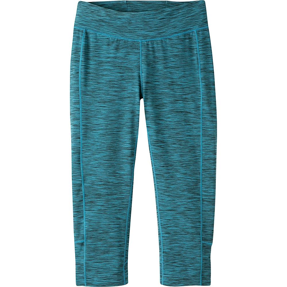 Mountain Khakis Traverse Tight Capri L - Blue Topaz Heather - Mountain Khakis Womens Apparel - Apparel & Footwear, Women's Apparel
