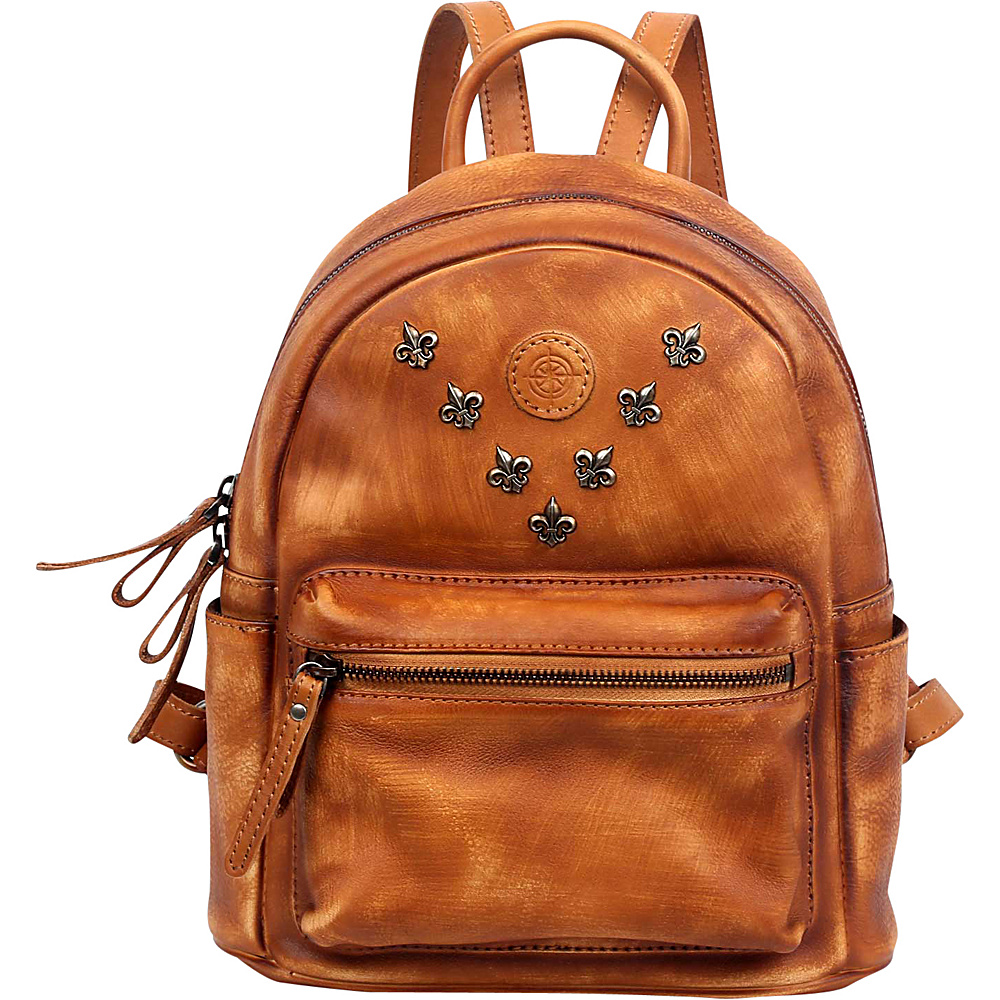 Old Trend Petti Backpack Chestnut Old Trend Leather Handbags