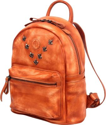 Old Trend Petti Backpack Cognac - Old Trend Leather Handbags