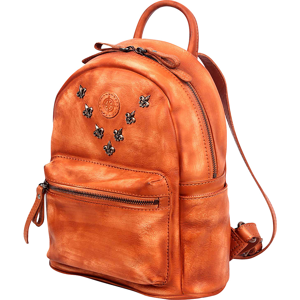 Old Trend Petti Backpack Cognac Old Trend Leather Handbags