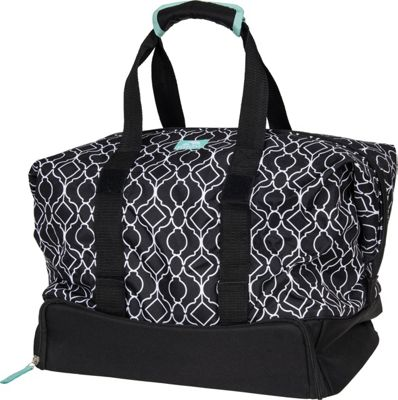 Igloo Extra Large Party Tote Ornate Trellis Black - Igloo Travel Coolers