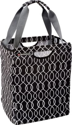 ADK Packworks ADK Packworks Packbasket - Prints Black Ogee - ADK Packworks All-Purpose Totes
