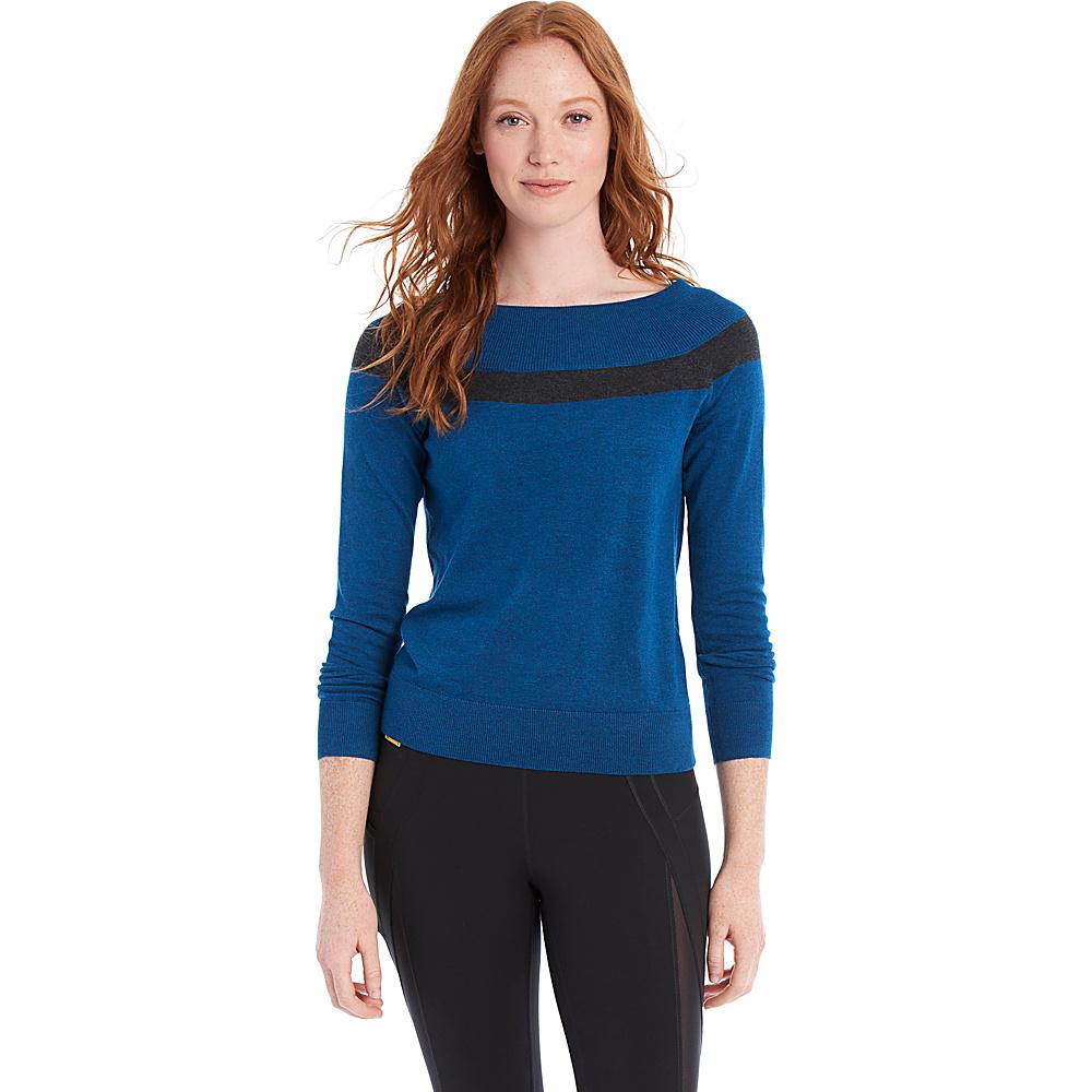 Lole Moss Sweater XS - Dark Marine Heather - Lole Womens Apparel - Apparel & Footwear, Women's Apparel
