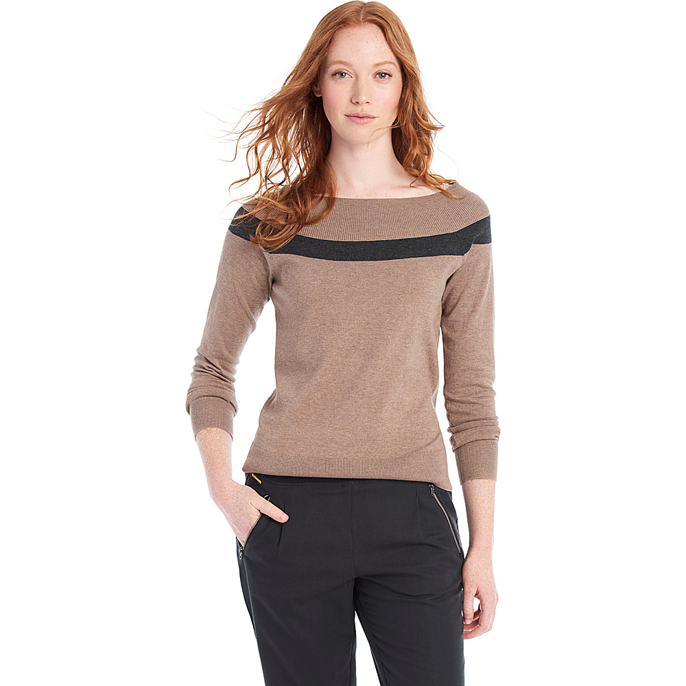 Lole Moss Sweater XS - Cinder Heather - Lole Womens Apparel - Apparel & Footwear, Women's Apparel