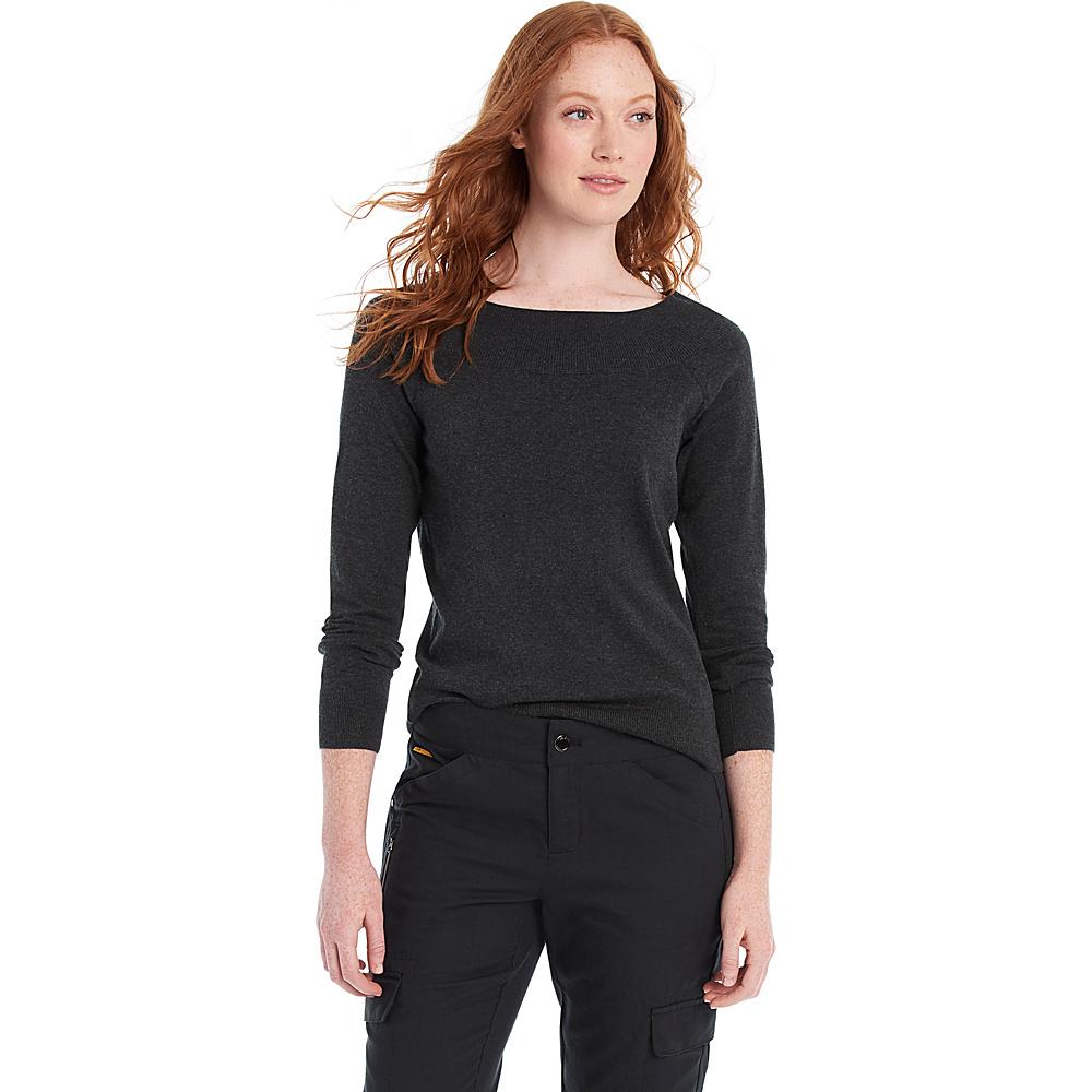 Lole Moss Sweater XS - Black Heather - Lole Womens Apparel - Apparel & Footwear, Women's Apparel