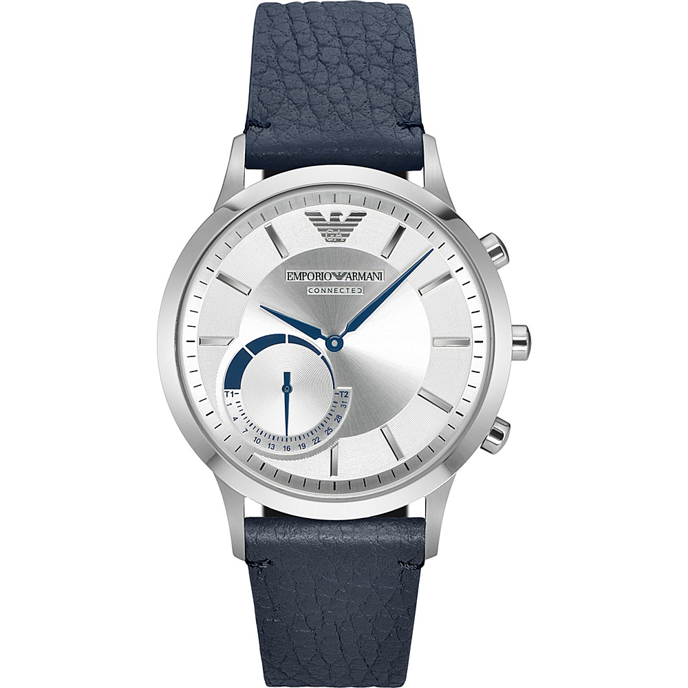 Emporio Armani Hybrid Smartwatch Blue Emporio Armani Wearable Technology