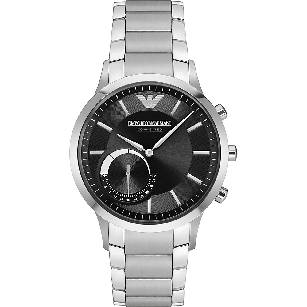 Emporio Armani Hybrid Smartwatch Silver Emporio Armani Wearable Technology