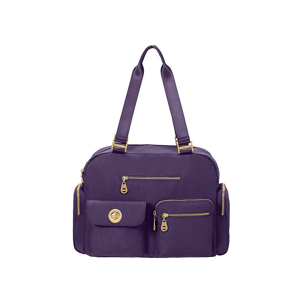 baggallini Venice Laptop Tote - Retired Colors Grape - baggallini Fabric Handbags