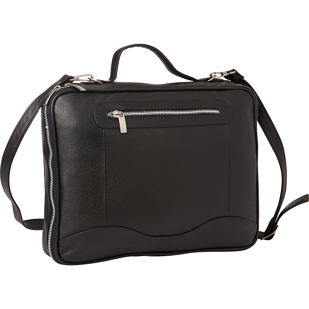 Piel Leather Laptop/Tablet Case Black - Piel Messenger Bags - Work Bags & Briefcases, Messenger Bags