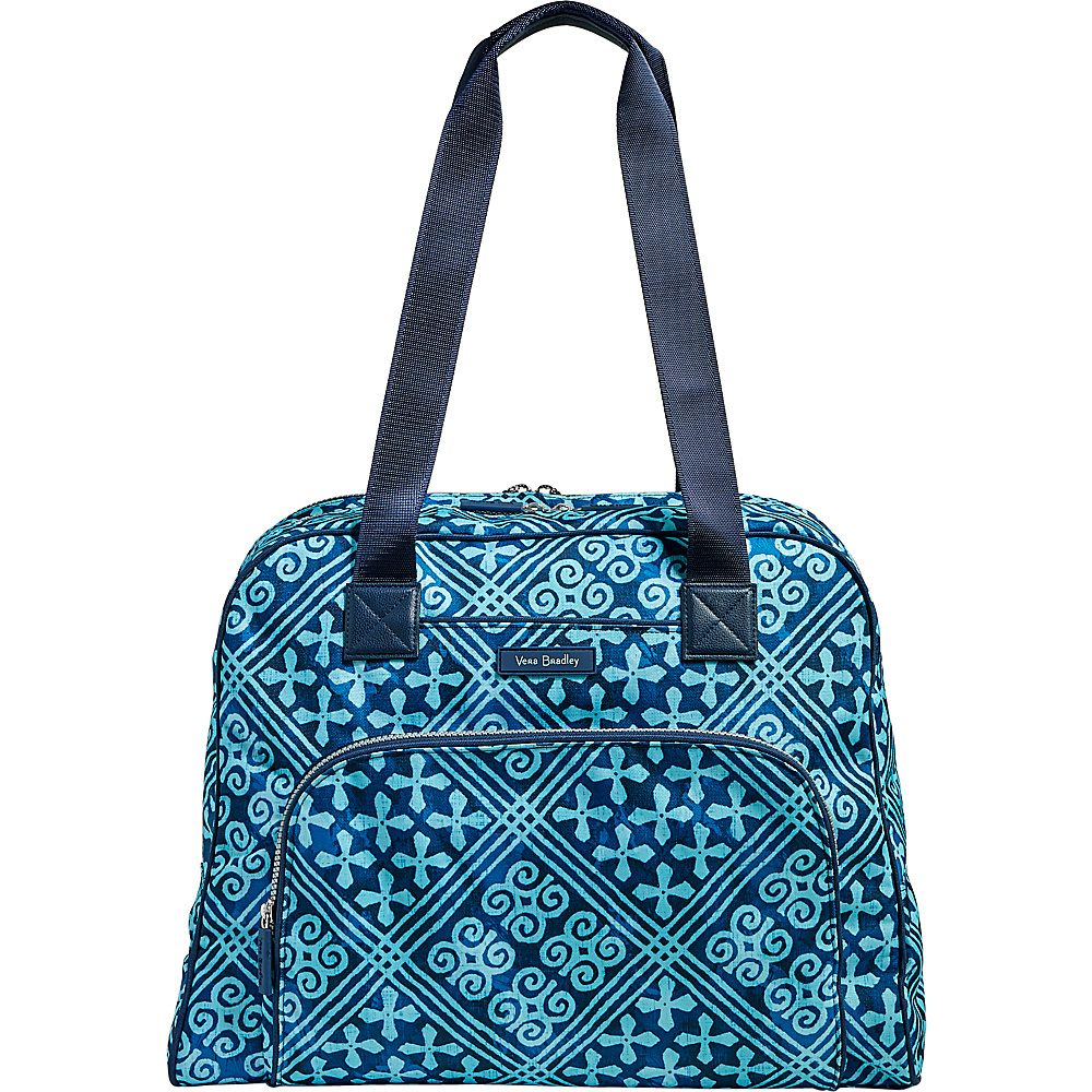 Vera Bradley Lighten Up Go Anywhere Carry-On Cuban Tiles - Vera Bradley Luggage Totes and Satchels - Luggage, Luggage Totes and Satchels