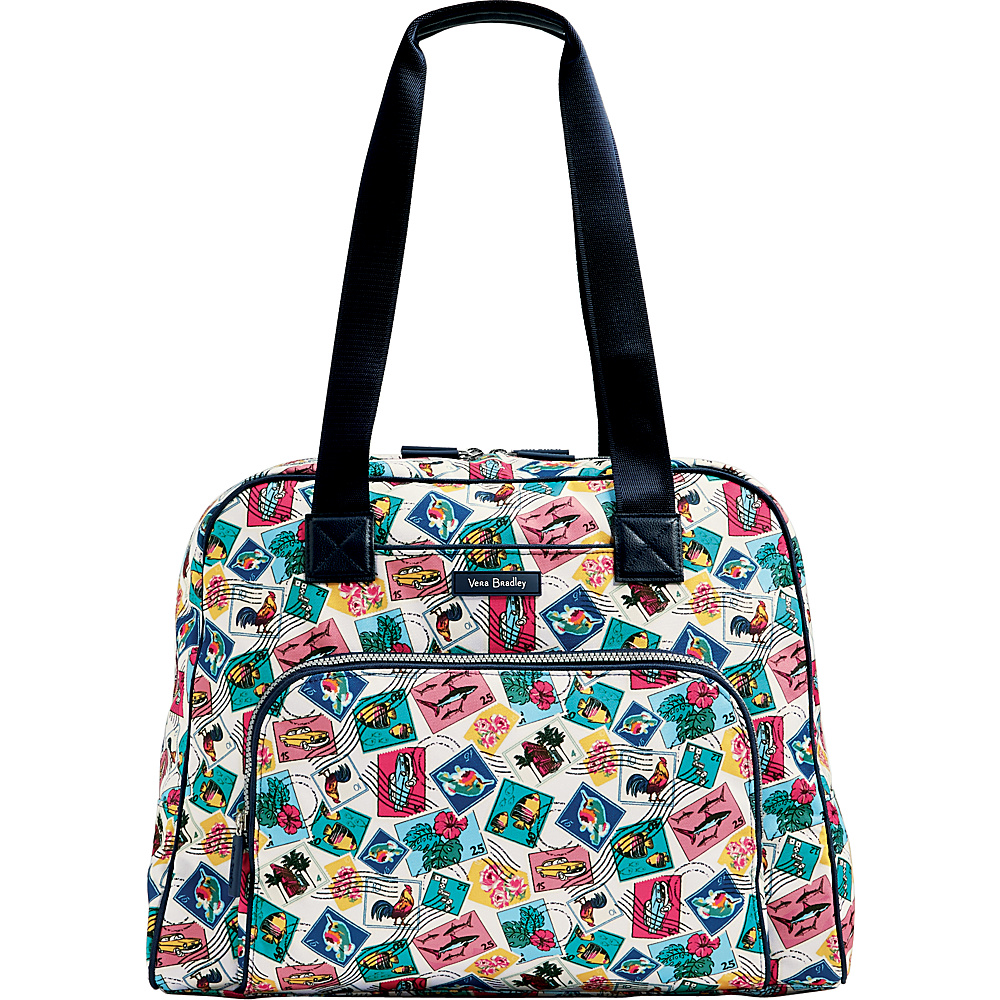 Vera Bradley Lighten Up Go Anywhere Carry-On Cuban Stamps - Vera Bradley Luggage Totes and Satchels - Luggage, Luggage Totes and Satchels