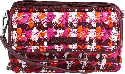 Vera Bradley RFID All in One Crossbody Houndstooth Tweed - Vera Bradley Fabric Handbags
