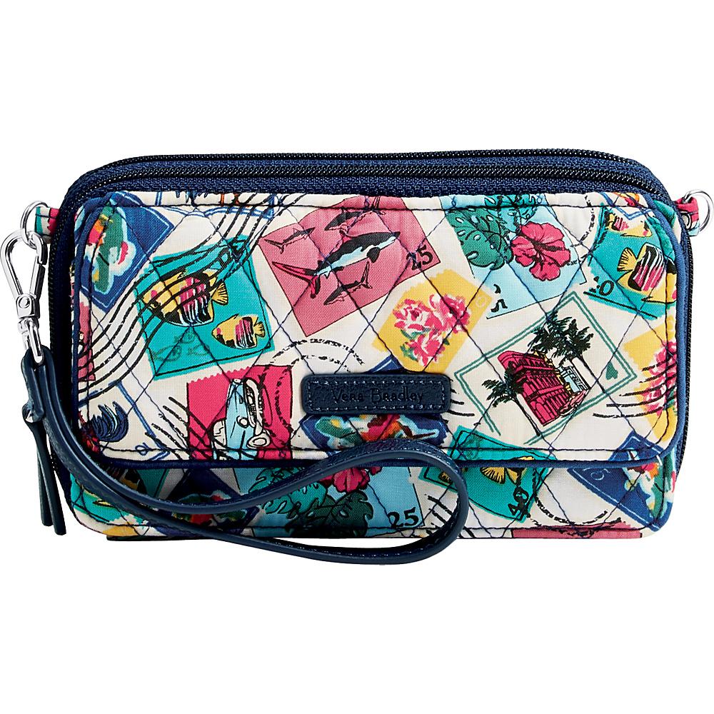 Vera Bradley RFID All in One Crossbody Cuban Stamps - Vera Bradley Fabric Handbags - Handbags, Fabric Handbags