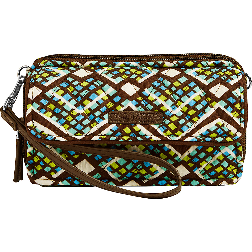 Vera Bradley RFID All in One Crossbody Rain Forest - Vera Bradley Fabric Handbags - Handbags, Fabric Handbags