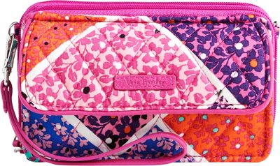 Vera Bradley RFID All in One Crossbody Modern Medley - Vera Bradley Fabric Handbags