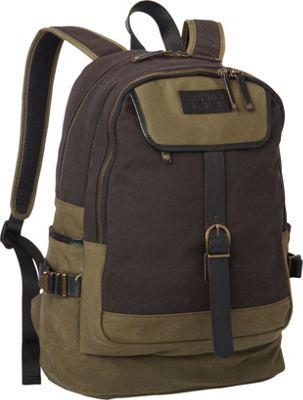 BENRUS Bivouac Backpack Black And Olive - BENRUS Business & Laptop Backpacks