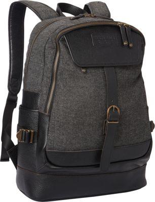 BENRUS Bivouac Backpack Black Tweed - BENRUS Business & Laptop Backpacks