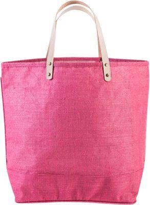 Shorebags Big Jute Bag Dusty Pink - Shorebags Fabric Handbags