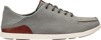 OluKai Mens Manoa Sneaker 14 - Fog/Mustard - OluKai Men's Footwear