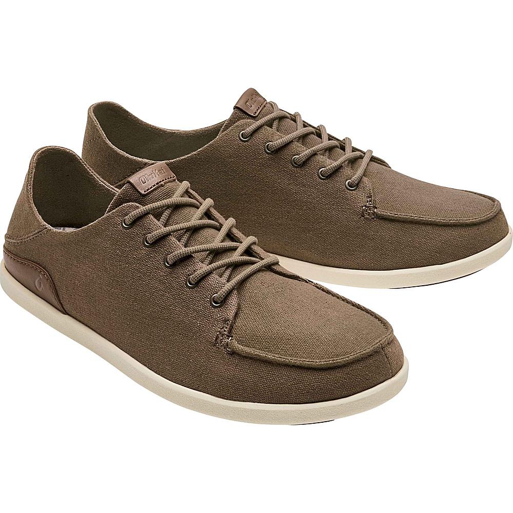 OluKai Mens Manoa Sneaker 8 - Mustang/Toffee - OluKai Mens Footwear - Apparel & Footwear, Men's Footwear