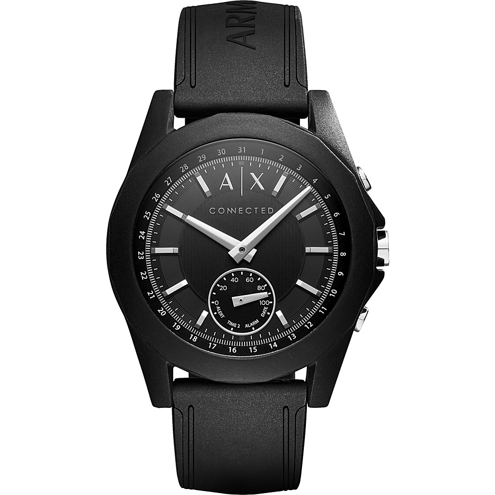A/X Armani Exchange Active Smartwatch Black - A/X Armani Exchange Wearable Technology