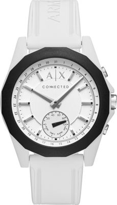 Image of A/X Armani Exchange Active Smartwatch White - A/X Armani Exchange Wearable Technology