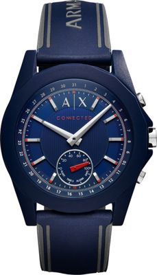 Image of A/X Armani Exchange Active Smartwatch Blue - A/X Armani Exchange Wearable Technology