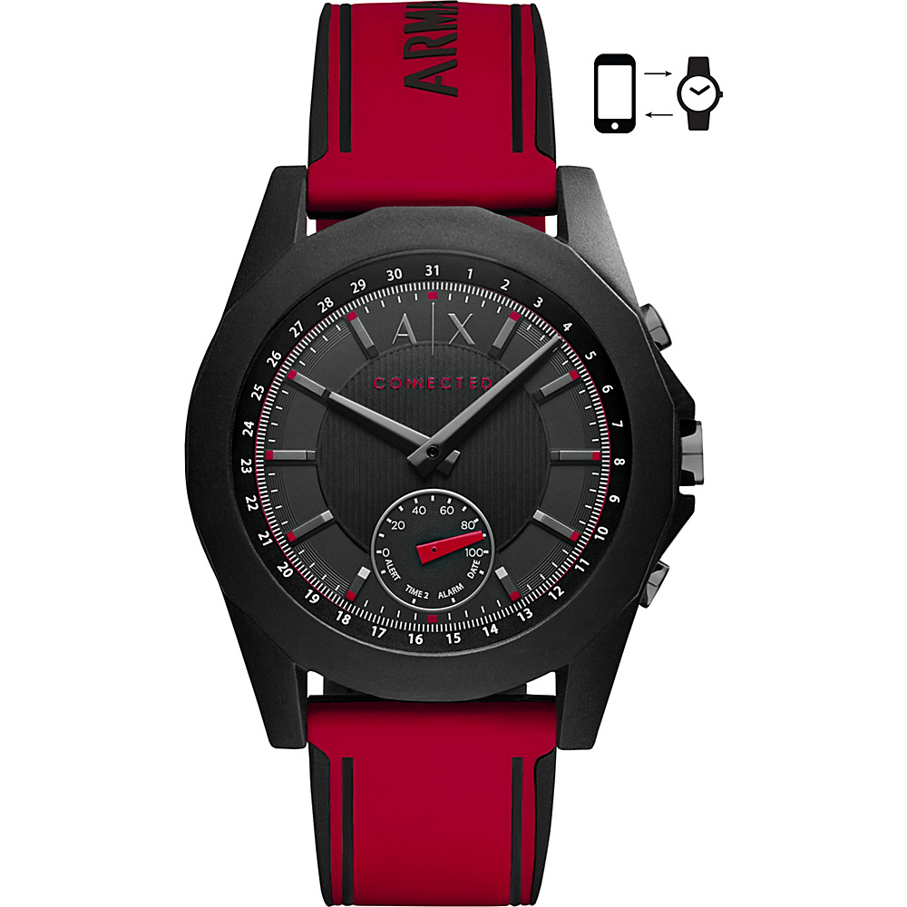 A/X Armani Exchange Active Smartwatch Red - A/X Armani Exchange Wearable Technology