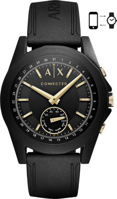 A/X Armani Exchange A/X Armani Exchange Active Smartwatch Black/Gold - A/X Armani Exchange Wearable Technology