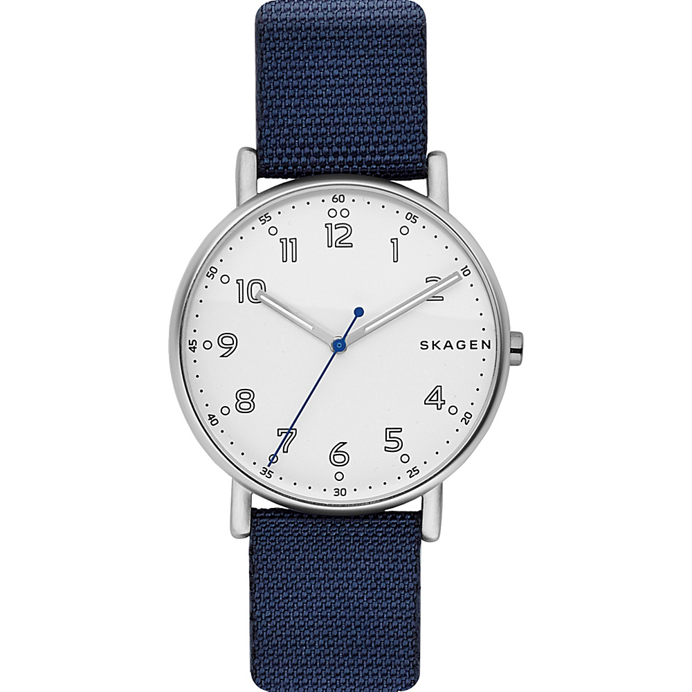 Skagen Signature Nylon Watch Blue - Skagen Watches