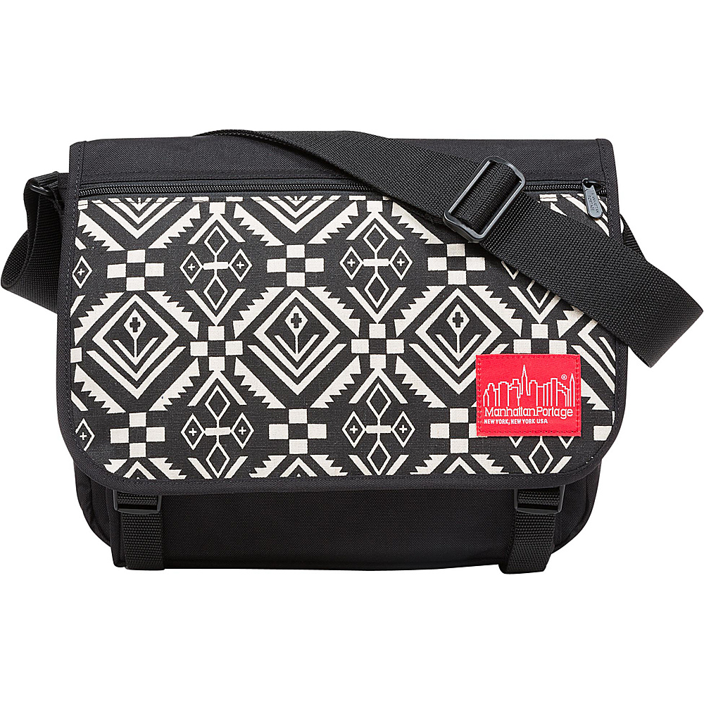 Manhattan Portage Totem Europa With Back Zipper And Compartments Black - Manhattan Portage Messenger Bags - Work Bags & Briefcases, Messenger Bags