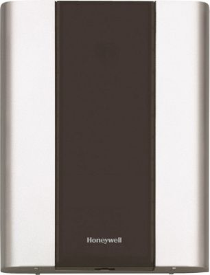 Honeywell Premium Portable Door Chime, 3 Push Buttons Brushed Silver - Honeywell Smart Home Automation