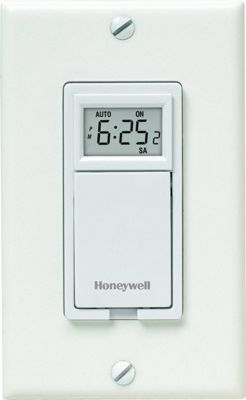 Honeywell Honeywell 7-Day Programmable Timer for Lights & Motors White - Honeywell Smart Home Automation