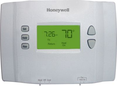 Honeywell 7-Day Programmable Thermostat White - Honeywell Smart Home Automation