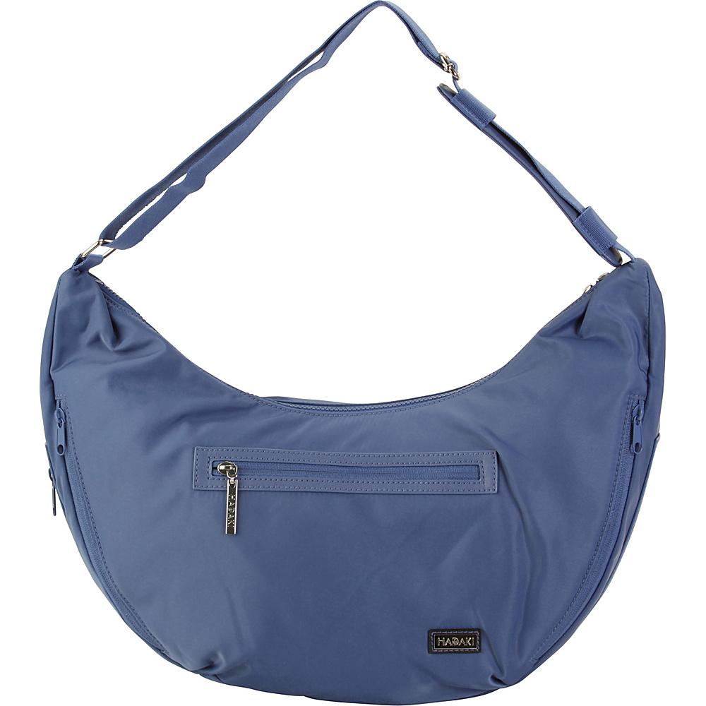 Hadaki City Hobo Bijou Blue - Hadaki Fabric Handbags - Handbags, Fabric Handbags