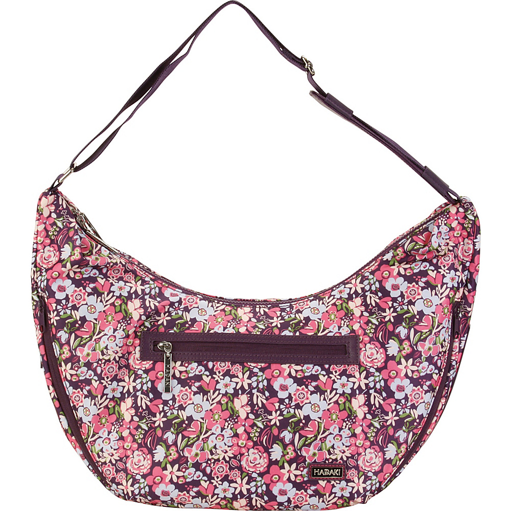 Hadaki City Hobo Blossoms - Hadaki Fabric Handbags - Handbags, Fabric Handbags